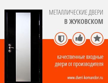металлические входные двери в жуковском